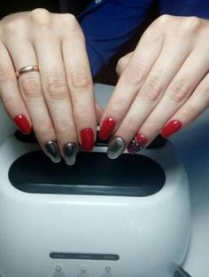 Nails Green Mirror New Ideas Different Nail Designs, New Nail Designs, Nail Designs Spring, Acrylic Nail Designs, Art Designs, Acrylic Nails, Mirror Nails Powder, Powder Nails, Manicure Colors