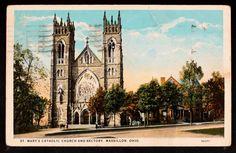 St Mary's Catholic Church and Rectory, Massillon, Ohio
