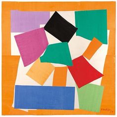 #Matisse #cutouts