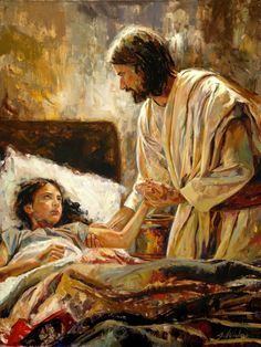 He came to my bed and touched my hand light as a feather.  I was healed in 2014.  Amen.