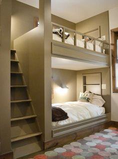 Builtin bunkbeds
