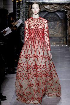 Valentino - haute couture paris spring 2013