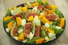 Kuchnia w wersji light: Sałatka z mango i mozzarellą