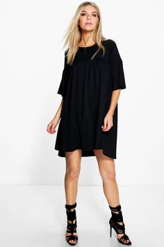 Cara Ruffle Shift Dress