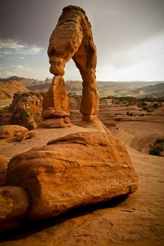 Delicate Arch, Arches National Park, Moab, Utah. One of the most beautiful places I've ever been in my life. Hope to camp there again this summer. :)