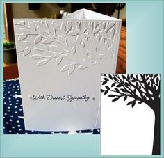 Leafy Tree 1217-40 Universal Embossing Folder by Darice for All Machines