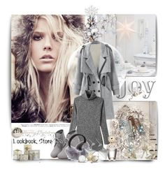 """""""Beautiful in gray"""" by zeljanadusanic ❤ liked on Polyvore featuring moda, WithChic, Marc Jacobs, Sterling, womensFashion, lookbookstore e WomensClothingOnline"""