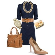 A fashion look from February 2013 featuring MANGO dresses, GUESS by Marciano pumps and MICHAEL Michael Kors watches. Browse and shop related looks.