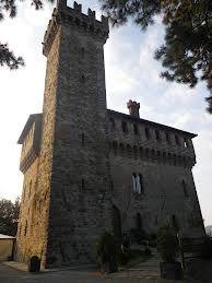 La torre del castello Alto Monferrato