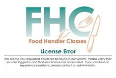 Food Handler Classes | State of Illinois | Our Fee: $7.00 | Online Certification, Permit, License, Certificate, Card, Training | Print License