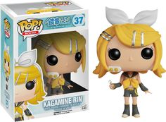 Static Fluff Anime Brings You  - Kagamine Rin - Vocaloid Funko POP ! Vinyl Figure, Check us out at (http://www.staticfluff.com/figurine/)
