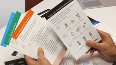 A person references the inclusive design activity cards and a support card. Cultural Probes, Design Thinking Process, Human Centered Design, Study Design, Step Cards, Technology Tools, Planner Layout, Information Design, Design System