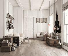 Scandinavian stlyle interior - by Pasquale Scionti - 3D Archviz