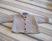 gilet voor baby - gilet en tricot taille 62-68