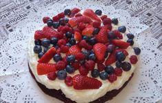 Smotanovo-tvarohová ovocná torta (videorecept)