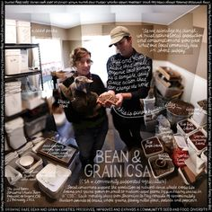 "#44 ""Bean & Grain CSA"" by Douglas Gayeton, via 500px"