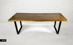 Stół z jednego kawałka drewna