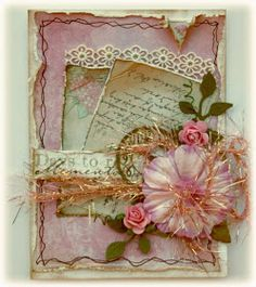 Such a Pretty Mess: A Quick Card {With Maja Design}