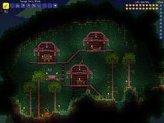Terraria - Tree House by TeslaSlayerX