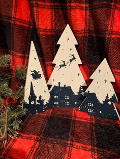The Night Before Christmas, done on our wood Christmas Trees Wood Christmas Tree, The Night Before Christmas, Some Pictures, Decoration, Diy Home Decor, Finding Yourself, Past, Couture, Projects