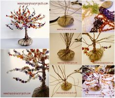 Diy Projects: DIY Wire Wrapped Tree