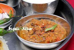 Ribbon's to Pasta's: Nepali Tomato Pickle (Golbheda ko Achar)