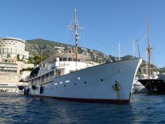 classic yachts | The classic yacht Istros arriving in Monaco - New-Build ...