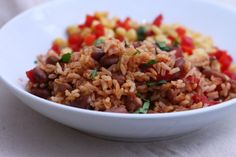Pinto Beans and Rice (I make without adding salt)