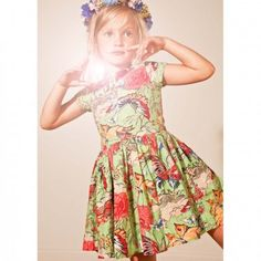 morley butterfly dress