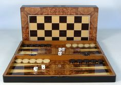 "Put this handsome game under the tree for a special someone this Christmas AND it ships FREE Ground in Cont. U.S.! The Game Supply - Burlwood Backgammon Game Set (19""), $59.95 (http://www.thegamesupply.com/burlwood-backgammon-game-set-19/) #19inchbackgammongame"