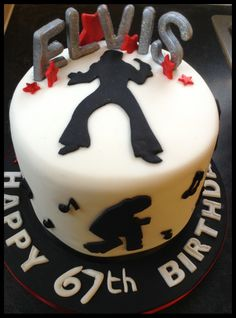 Elvis Themed Cake x
