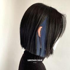 Under Hair Color, Hidden Hair Color, Hair Color Underneath, Hair Color Streaks, Hair Dye Colors, Shot Hair Styles, Curly Hair Styles, Color Block Hair, Cut My Hair