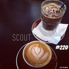 Scout. Brisbane. 365 coffees. 365 cafes. 365 days.