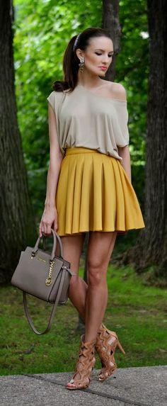 Everyday New Fashion: Skirt's Week