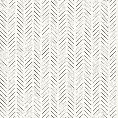 Pick-Up Sticks Wallpaper - Double Roll / Black/White