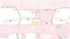 Cute Laptop Wallpaper, Kawaii Wallpaper, Cute Backgrounds, Cute Wallpapers, Kawaii Drawings, Cute Drawings, Stitch Drawing, Cute Borders, Cute Cat Drawing