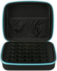 30 Essential Oils Carrying Case for and Bottles Hard Shell Exterior Storage Organizer Holds doTerra Young Living and endless others by Soothing Wellness Essentials Caribbean Blue -- Learn more by visiting the image link. Essential Oils For Shingles, Best Essential Oils, Young Living Essential Oils, Cellulite Oil, Essential Oil Carrying Case, I Have A Secret, Thing 1, Aromatherapy Oils, Waffle Iron