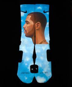 Drake nike socks