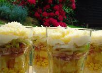 Skládaný zimní salát podle Petra Novotného Mashed Potatoes, Cabbage, Salads, Petra, Vegetables, Ethnic Recipes, Fit, Pineapple, Whipped Potatoes
