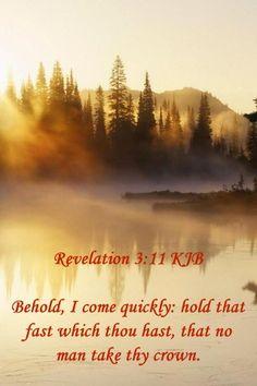 Revelation 3:11 KJB