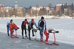 Kicksledding in Finland - photo by JarnoK, via Flickr