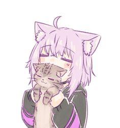 Manga Anime Girl, Anime Girl Drawings, Anime Girl Cute, Anime Neko, Kawaii Anime Girl, Manga Art, Anime Films, Anime Characters, Cute Anime Character