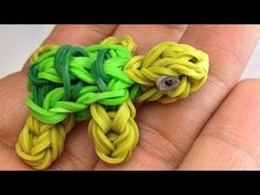 TURTLE Charm on the Rainbow Loom by PG Loomacy - YouTube