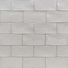 Catalina Gris 3 in. x 6 in. x 8 mm Ceramic and Wall Subway Tile