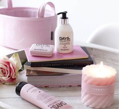 Riverdale Riverdale Book, Rivera Maison, Spa Quotes, Spa Night, Relax, Pink Candles, Spa Day, Bath Time, Soft Colors