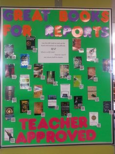 Great Books for Reports: Teacher Approved - Blog post by Information Superhero