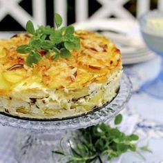 Potatiskaka - krämigt och enkelt recept - Mitt kök