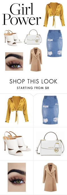 """""""GG"""" by ashgamer ❤ liked on Polyvore featuring Boohoo and Michael Kors"""