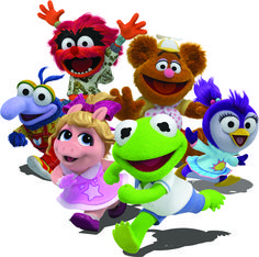 Revisiting the Muppet Babies' Rainbow Connection Muppet Babies, Disney Junior, Disney Jr, Kermit And Miss Piggy, Baby Toms, The Muppet Show, Birthday Places, Baby Birthday, Birthday Cake
