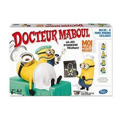 Hasbro – A25764470 – Jeu D'action Et De Réflexe – Dr Maboul – Moi Moche Et Méchant